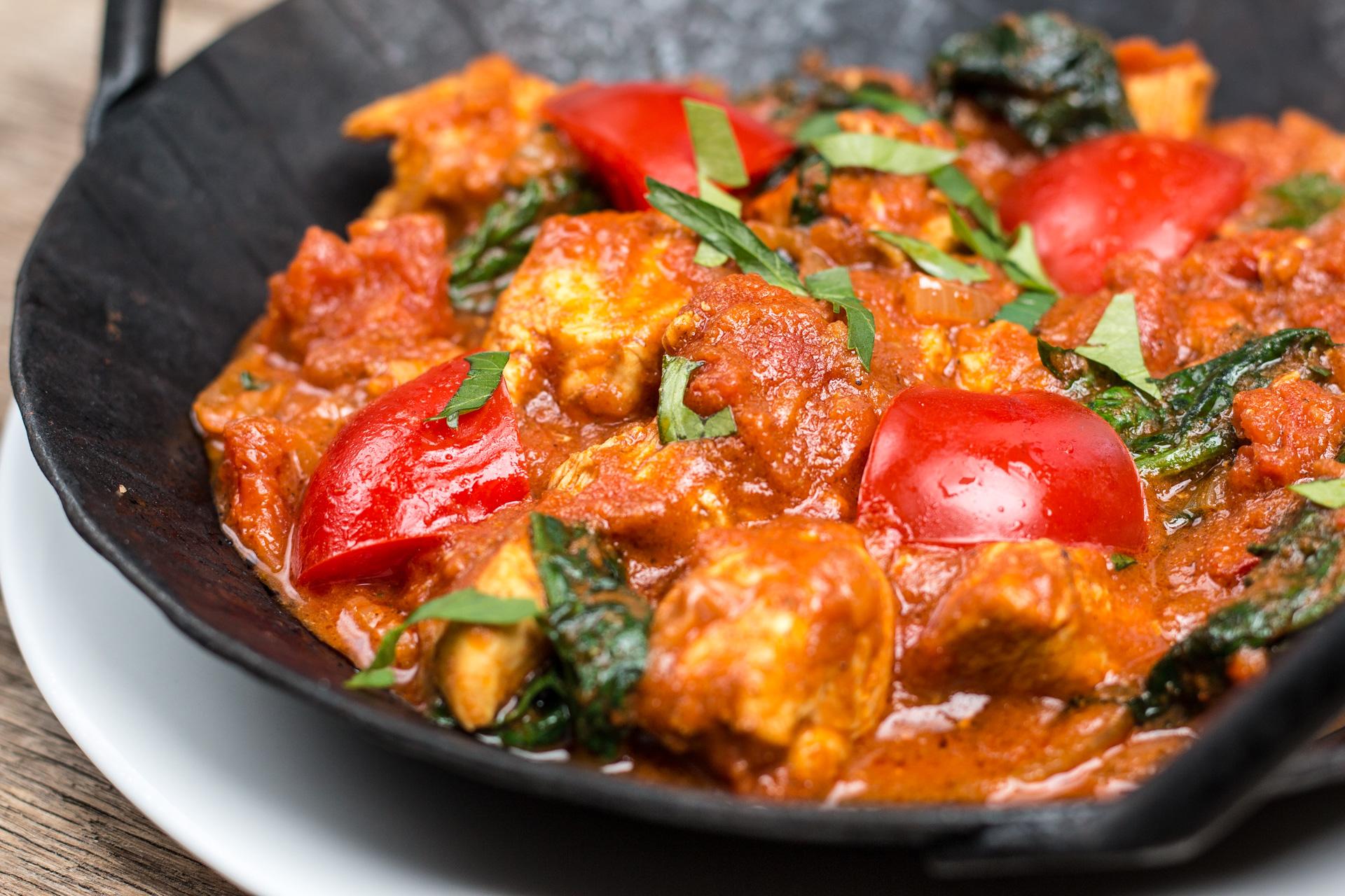Indisches Curry Chicken Balti Froilainchen B
